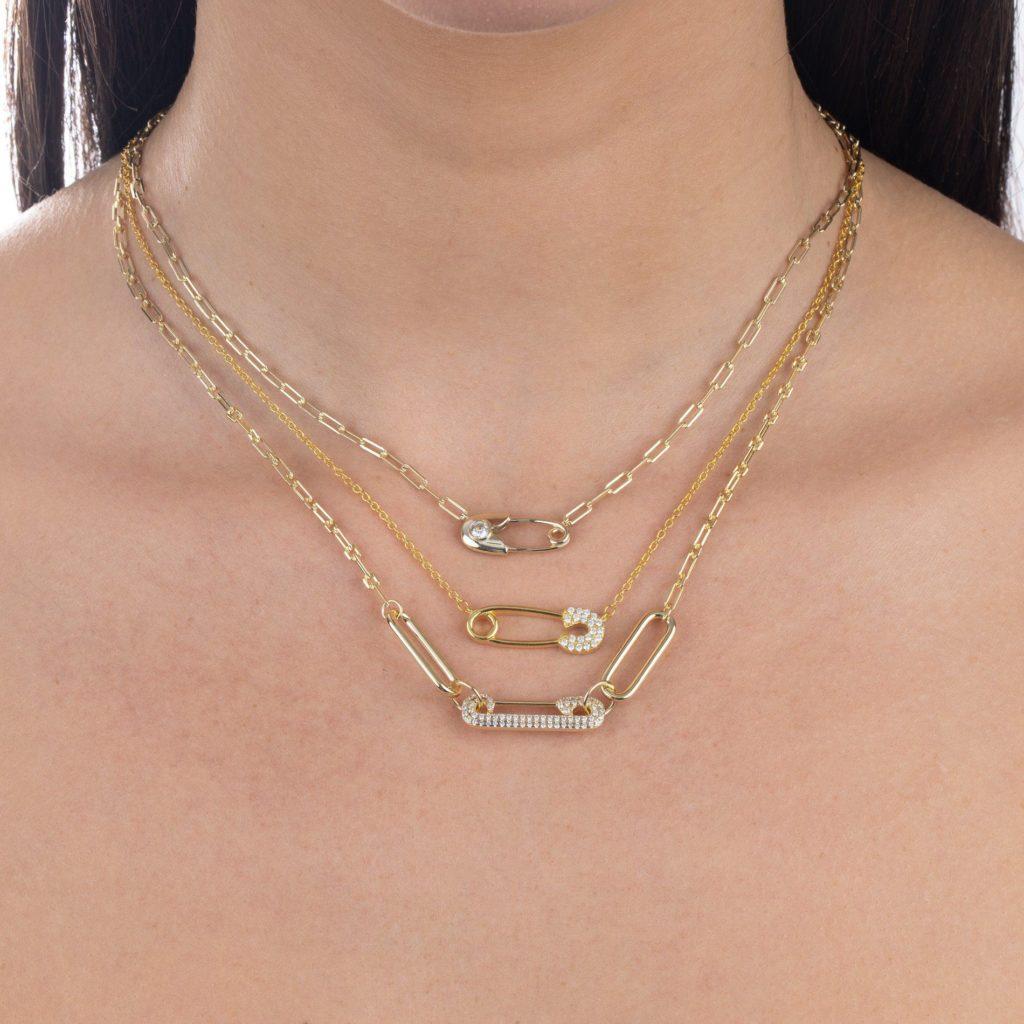 Collana Paven Pin Link - gioielli