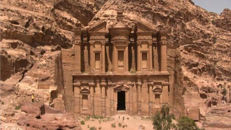 Le rovine di Petra, un viaggio con lo street view