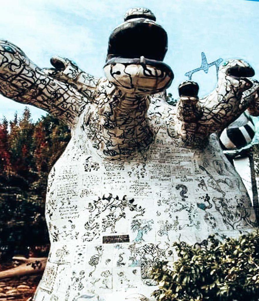 Giardino dei Tarocchi, l'Albero della Vita