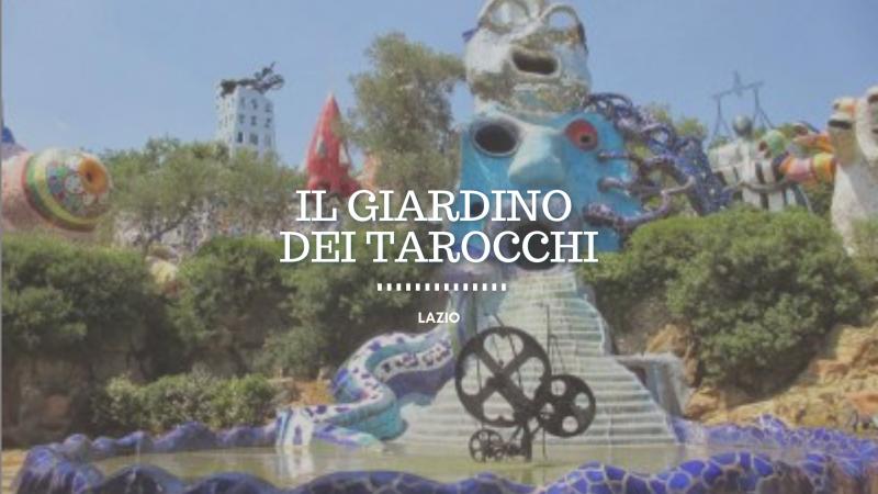 Il Giardino dei Tarocchi, la scultura diventa magia