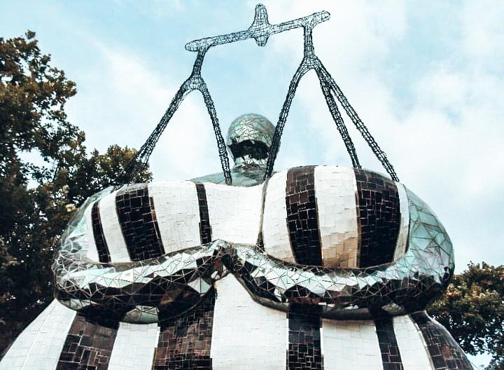 Giardino dei Tarocchi, la Giustizia