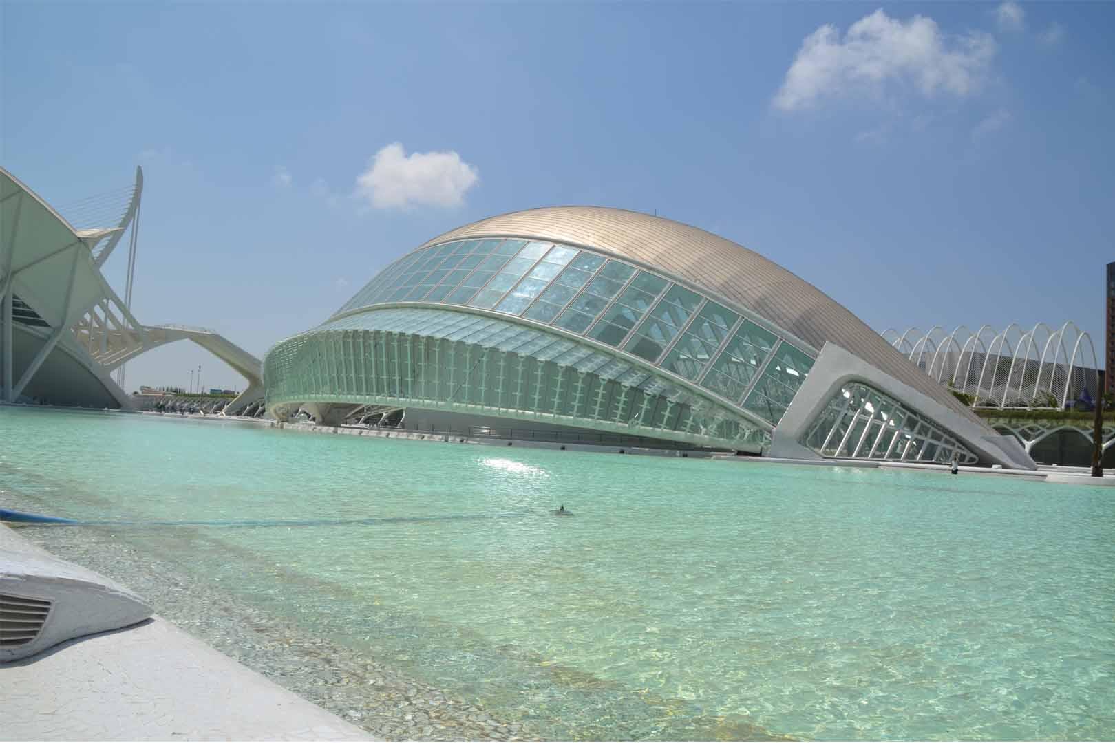 Hemisferic Valencia, il mondo in 3D