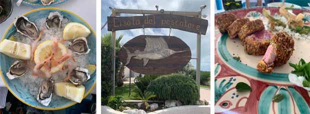 Dove mangiare a Santa Severa: L'Isola del Pescatore