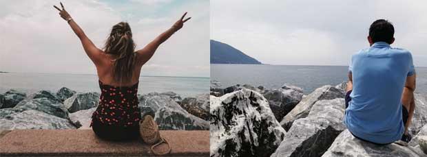 Viaggiare in coppia: noi in Liguria