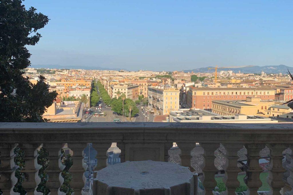 Roma vista dai Musei Vaticani