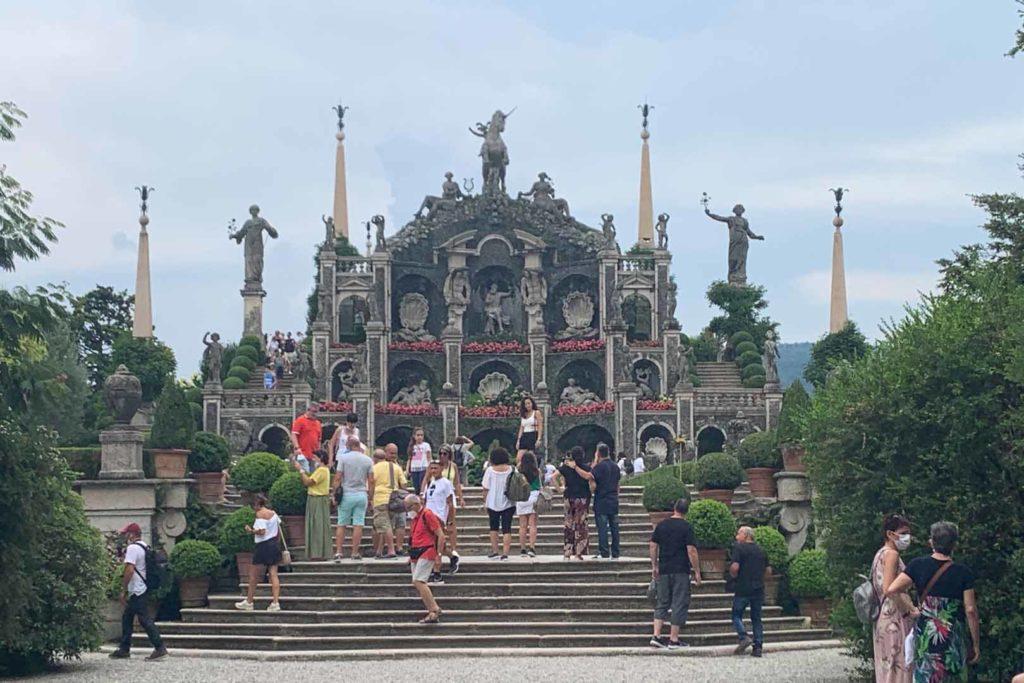 Isola Bella, il giardino barocco