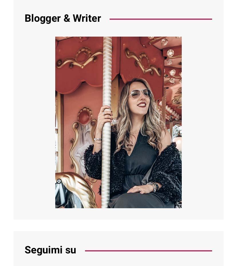 La mia immagine del blog