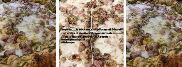 La pizza Martucci