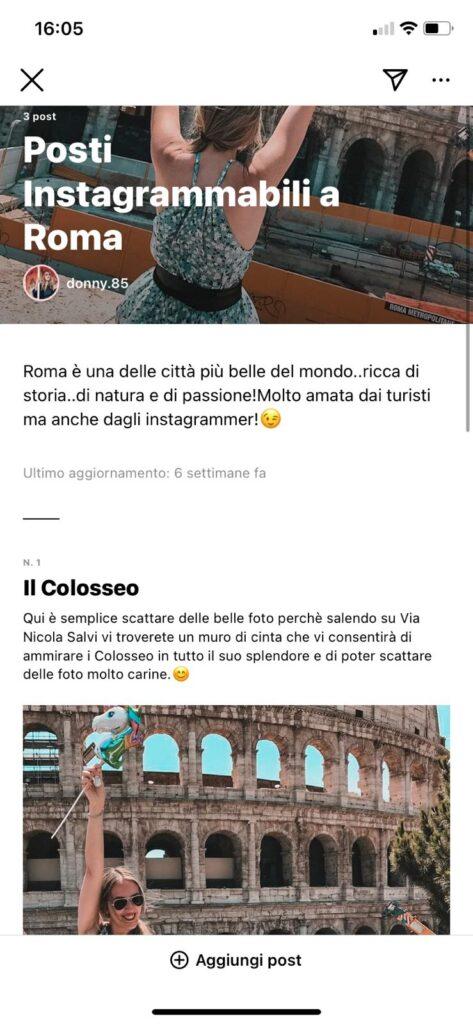 La mia guida su Roma