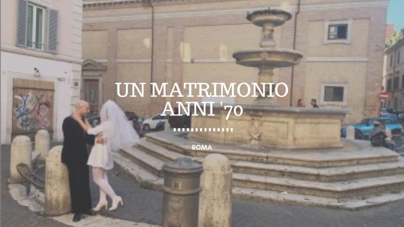 Anni '70, il matrimonio diventa una favola