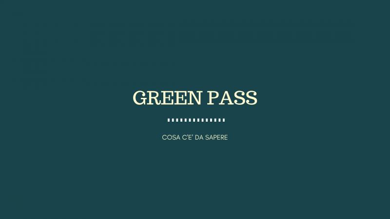 Green Pass, cosa c'è da sapere