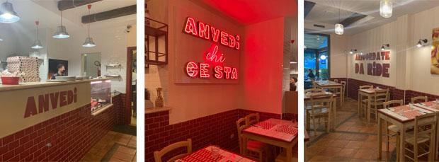 Anvedi - il ristorante-pizzeria di quartiere dall'anima pop
