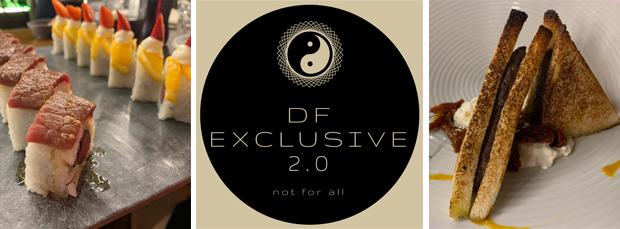 Gli antipasti al DF Exclusive 2.0