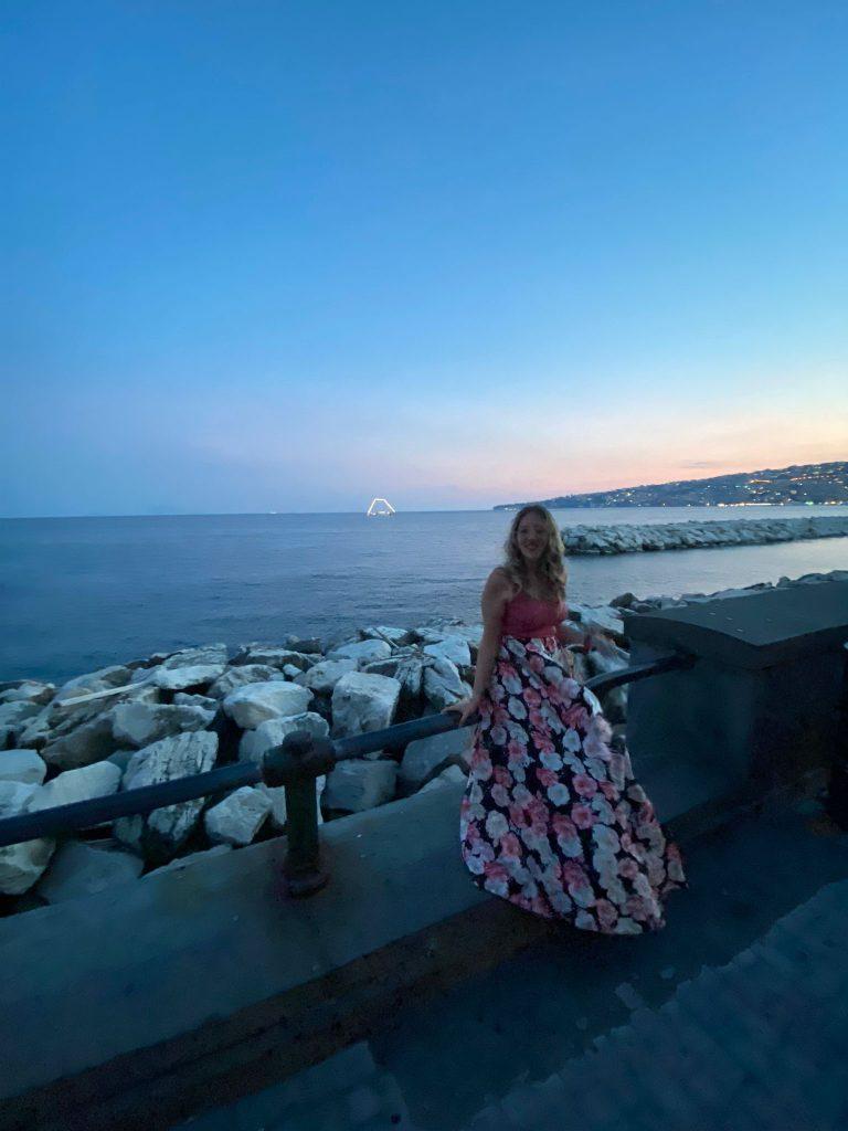 Il lungomare più bello del mondo tra i posti instagrammabili di Napoli