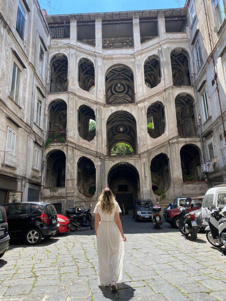 Palazzo Sanfelice nel Rione Sanità