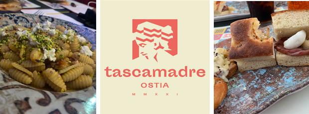 Il menù di Tascamadre è davvero ricco e goloso