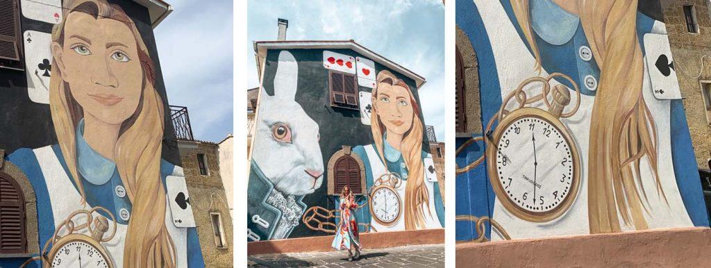 Sant'Angelo: Alice nel paese delle meraviglie