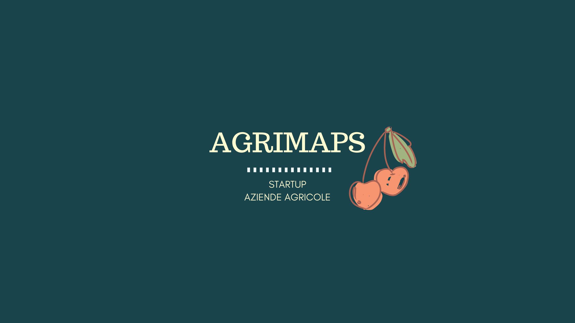 Agrimaps, la nuova start up per le aziende agricole