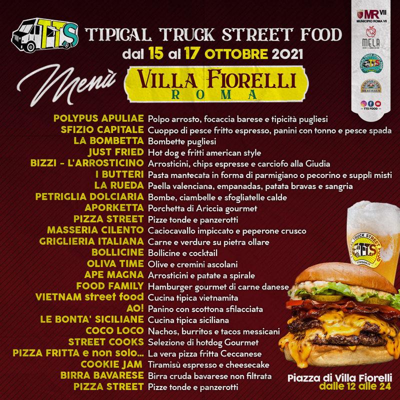 TTS Food Menù