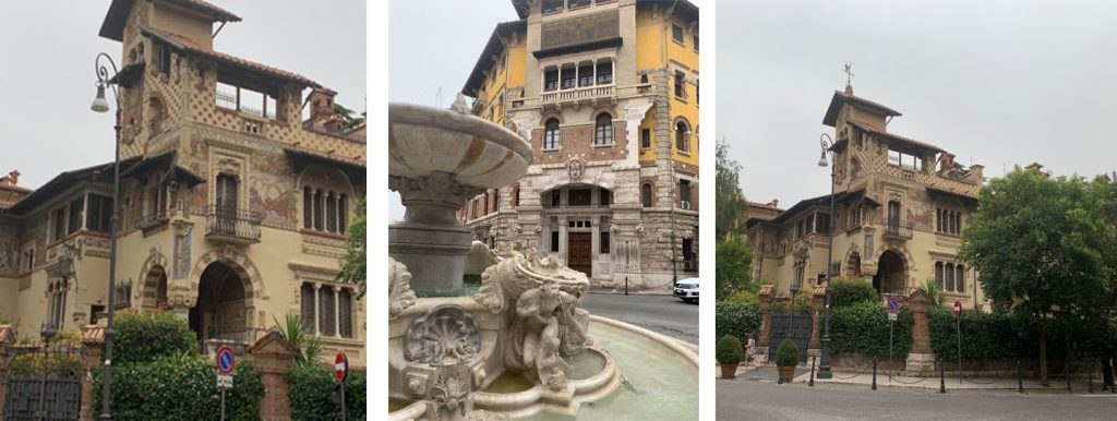 Posti magici a Roma:il quartiere coppedè