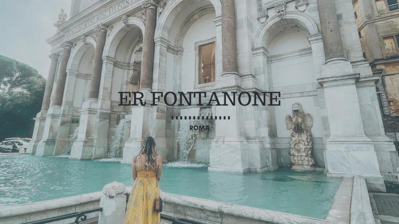 Er Fontanone, la Fontana dell'Acqua Paola della canzone di Venditti
